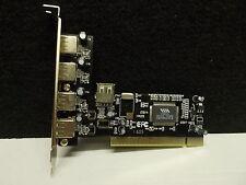 PCI USB 2.0, Port 4 + 1, Controllerkarte, #K-6-2