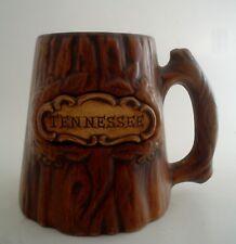 Vintage Souvenir Tree Trunk Coffee Cup Mug Tennessee