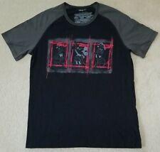 DISNEY DONALD MICKEY GOOFY Disney Store T-Shirt Womens SM black