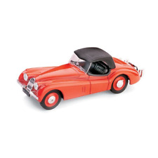JAGUAR XK 120 DROP HEAD 1948 ROSSO 1:43 Brumm Auto Stradali Die Cast Modellino
