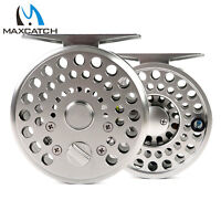 Maxcatch Classic Fly Reel 2/3 3/4WT Clicker And Pawl Drag Trout Fly Fishing Reel