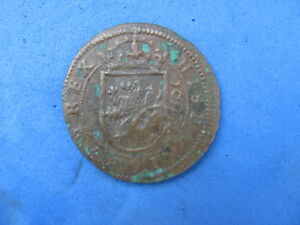 PREMIUM  Spanish Cobb Coin  1607  FELIPE III