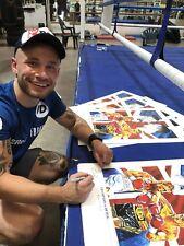 Boxing Frampton vs Quigg Art Print By Killian Art Signed By Carl Frampton