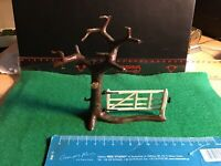 Vintage Britains Lead Farm/Home.Large Tree With Hanging Gate No F7. A1 Condition