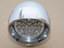 "7"" Chrome LED Motorcycle Bullet Headlight Light For Harley Davidson Choppers New"