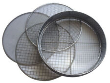 Practicool PCG-SVE-30-4-SS-FBA Stainless Steel Garden Potting Sieve/Riddle with 4 Interchangeable Mesh