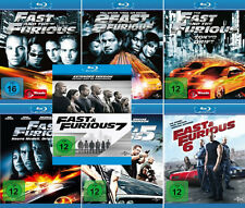 The Fast and the Furious 1 - 7 (Paul Walker)                     | Blu-ray | 053