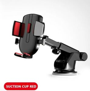 360° Mobile Phone Holder Long Neck Suction Cup Mount For Car Windshield