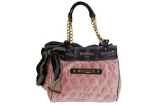 Juicy Couture Day Dreamer Quilted Circles Tote Handbag in Tattered