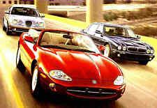 2000 JAGUAR BROCHURE-XJ8-XJ8L-VANDEN PLAS-XJR-S TYPE-XK8-XKR-COUPE & CONVERTIBLE