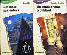 LA COURTE ECHELLE - 2 LIVRES ROMAN +  ( #27 & #31) - DENIS COTE - C. BROUILLET