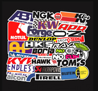 Rc Car Body Shell 100pcs Stickers Decals For Axial Losi Associated Axial Traxxas