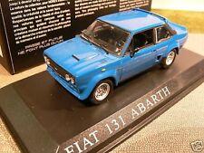 1/43 NOREV FIAT 131 ABARTH Bleu 770171