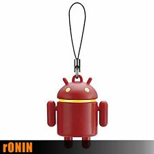 ANDROID ROSSO - Android Robot RED Mascot Keychain Portachiavi Swing BANDAI