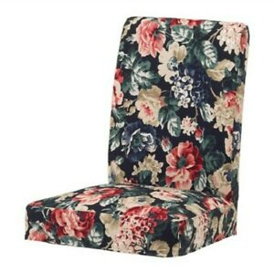Ikea Henriksdal Chair Cover Slipcover Lingbo Multicolor Floral - New