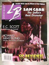LIVING BLUES MAGAZINE #171 (2004) Sam Carr Jelly Roll Kings, John Brim, EC Scott