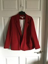 Woman's Size Large - Maroon Color - Blazer - Necessary Objects Brand