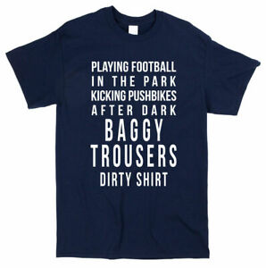 Madness Baggy Trousers Lyrics T-shirt - Retro 80s Classic Song Music Tee