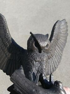 Vintage Bronze Great Horned Owl Gilroy Roberts 1978 Ltd Edition 0260/2500 NICE