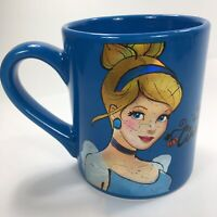 Cinderella Princess Blue Disney Coffee Mug Tea Cup