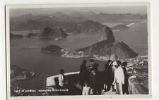 Brazil, Rio De Janeiro, Vista do Corcovado RP Postcard #2, B199
