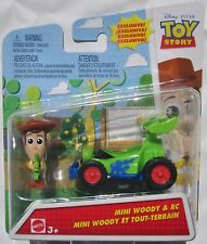 ++ Disney Pixar - Toy Story - Mini Woody & RC - Plastic Toys