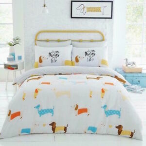 DACHSHUND ~  SAUSAGE DOG  Double / Queen  Quilt Cover,
