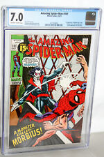 AMAZING SPIDERMAN #101 CGC 7.0 IST APPEARANCE  OF MORBIUS! MARVEL