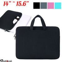 "14""/15.6"" Laptop Case Bag Sleeve with Handle for Macbook Air Pro Lenovo Dell"