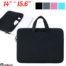 """14""""/15.6"""" Laptop Case Bag Sleeve with Handle for Macbook Air Pro Lenovo Dell"""