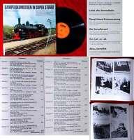 LP Dampflokomotiven in Super Stereo (Franckh 3-440-03829-7) D 1972