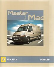 Prospetto/brochure RENAULT MASTER 09/2006