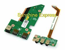New OEM Dell Charger Board NU327 + Audio Board NU330 for Studio 1735 1737 Laptop