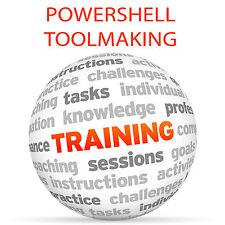 POWERSHELL Toolmaking - Video Training Tutorial DVD