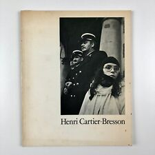 Henri Cartier-Bresson. His archive of 390 photographs from the V&A 1978