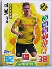 Match Attax 2017/18 Bundesliga - #070 Julian Weigl - Borussia Dortmund