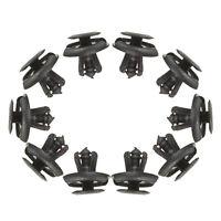 10x BLACK CAR fender Spray Shield Clips Clip For SUZUKI MAZDA  G8W1 M1R6