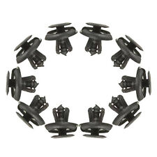 10x BLACK CAR fender Spray Shield Clips Clip For SUZUKI MAZDA  G8W1 M1R6