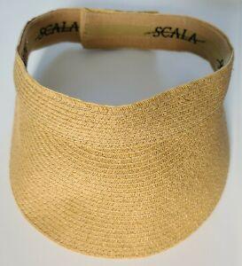 SCALA Women's Ultra Braid Hat Visor