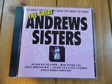 THE ANDREW SISTERS  The Great