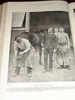 1899 Herrador Quartermaster Sgt Zapato - Smith Caballos