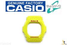 CASIO Baby-G BG-5600HZ-9V Original Yellow BEZEL Case Shell