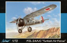 KTF/PZL P.24 A/C (TURKISH AF MARKINGS) #102 1/72 AZUR