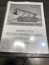 New listing Kalmar Rt240 Container Handler Maintenance Training Guide Manual
