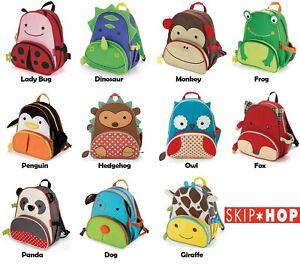 "Skip Hop Toddler Backpack Girls Boys 12"" School Bag New & Free-shipping"