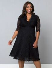 Unbranded Knee Length Plus Size Dresses for Women