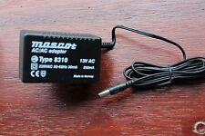 Mascot Type 8310 AC/AC PSU Adaptor 2-pin Euro Socket 240v in 12v 13v 250mA out