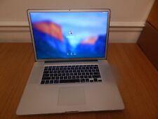 """Apple MacBook Pro Core 2 Due -17"""" Ordinateur Portable - 2.66 GHz – 8 Go - 500 Go-Début 2009"""