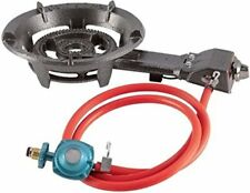 Portable Large Propane Gas Burner Stove Cooking Camping Outdoor W/Hose
