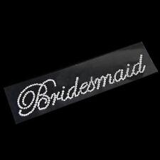 Wedding DIY Bridal For Bachelorette Party Clear Rhinestone Sticker Bridesmaid